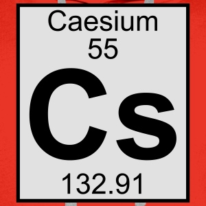 Elements 55 - cs (caesium) - Full (white) T-shirts - Premiumluvtröja herr