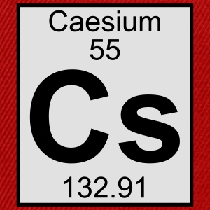 Elements 55 - cs (caesium) - Full (white) T-shirts - Snapbackkeps