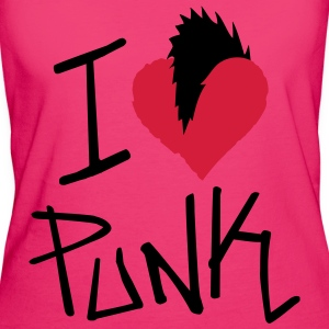 I Love Punk - Women's Organic T-shirt