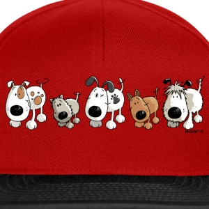 Funny Dogs - Cane - Cani - Cartoon Felpe - Snapback Cap