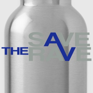 save the rave T-Shirts - Trinkflasche