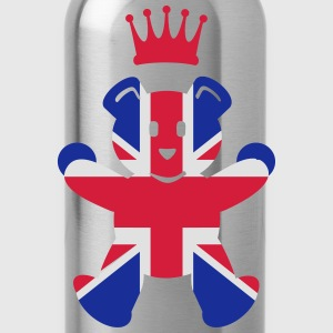 UK teddy princess (3c) T-Shirts - Trinkflasche