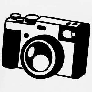 camera old style shutter colour vintage Drinkware - Men's Premium T-Shirt