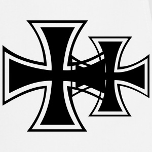 iron cross t-shirt - Tablier de cuisine
