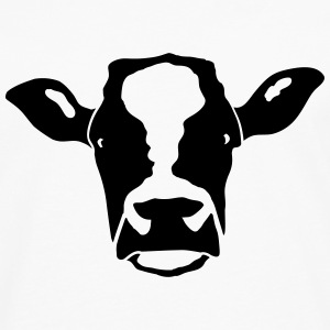 cow head T-Shirts - Men's Premium Longsleeve Shirt