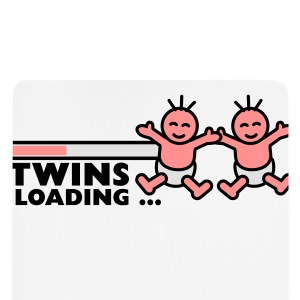 Twins Loading Tee shirts - Tapis de souris (format portrait)