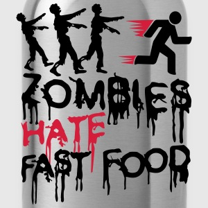 Zombies Hate Fast Food Tee shirts - Gourde