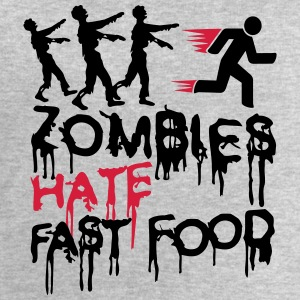 Zombies Hate Fast Food T-skjorter - Sweatshirts for menn fra Stanley & Stella