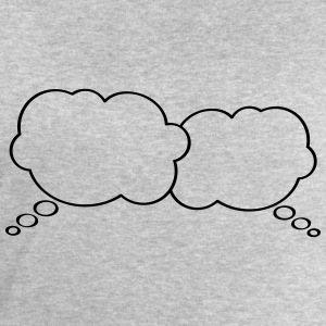 Thought Bubbles T-shirts - Sweatshirt herr från Stanley & Stella