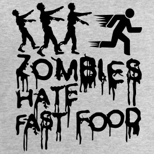 Zombies Hate Fast Food T-Shirts - Men's Sweatshirt by Stanley & Stella