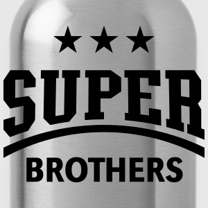 Super Brothers, T-Shirt - Trinkflasche