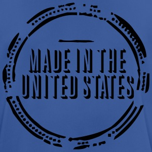 Made in the United States (stamp, 1c) Bags & backpacks - Men's Breathable T-Shirt
