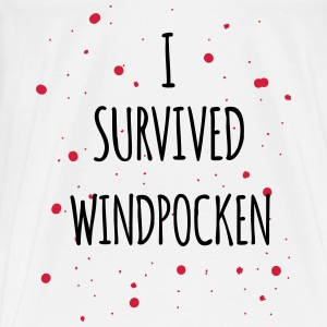 I survived Windpocken 2c Kinder & Babys - Männer Premium T-Shirt
