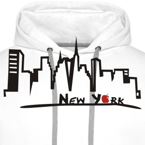New York T-skjorter - Premium hettegenser for menn
