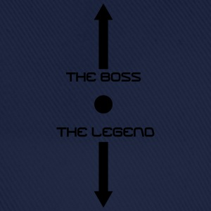 the_boss_the_legend Tee shirts - Casquette classique