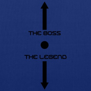 the_boss_the_legend T-Shirts - Stoffbeutel