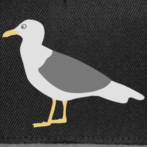 seagull  mouette  Tee shirts - Casquette snapback