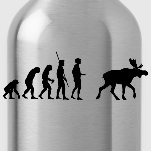 Evolutie Moose  T-shirts - Drinkfles