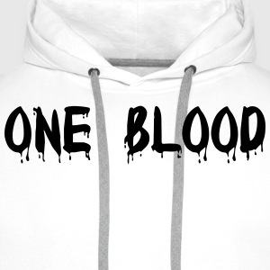 one blood T-shirts - Herre Premium hættetrøje