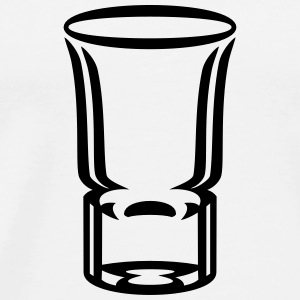Schnapsglas / shot glass (1c) Bags & backpacks - Men's Premium T-Shirt
