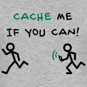 GeoCache me if you can Sudaderas - Camiseta ajustada hombre