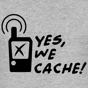 Geocaching - Yes we cache! Gensere - Slim Fit T-skjorte for menn