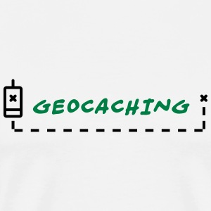 GeoCaching Gensere - Premium T-skjorte for menn