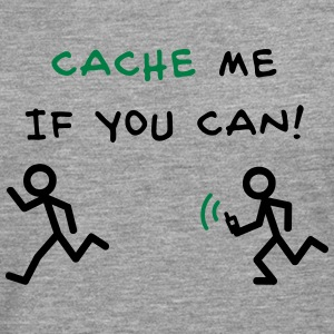 GeoCache me if you can Tee shirts - T-shirt manches longues Premium Homme