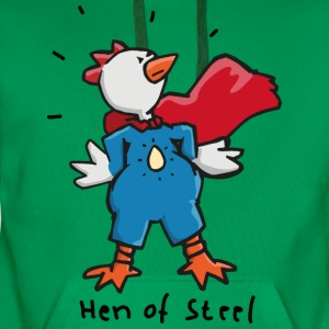 Hen of Steel - Superchicken Shirts - Men's Premium Hoodie