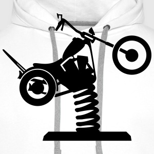 Loose chopper  T-Shirts - Men's Premium Hoodie
