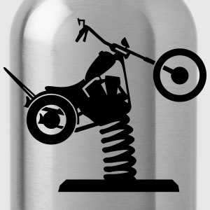 Wackel Chopper Shirt - Trinkflasche
