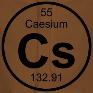 Element 55 - cs (caesium) - Full (round) T-shirts - Premiumluvtröja dam