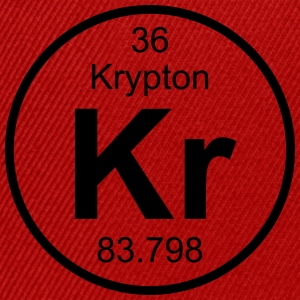 Element 36 - kr (krypton) - Full (round) T-shirts - Snapbackkeps