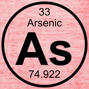 Arsenic (As) (element 33) - Women's Tank Top by Bella