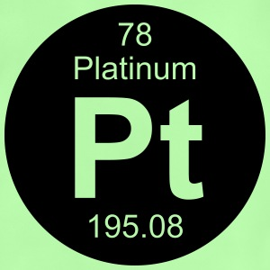 Platinum (Pt) (element 78) - Baby T-Shirt