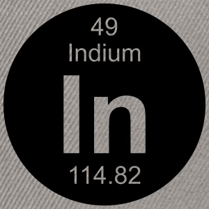 Indium (In) (element 49) - Snapback Cap