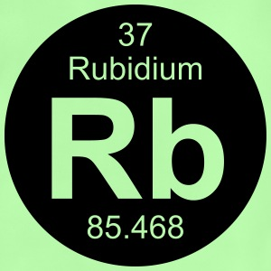 Rubidium (Rb) (element 37) - Baby T-Shirt
