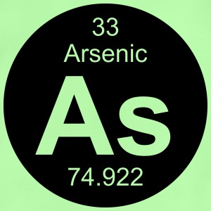 Element 33 - as (arsenic) - Round (inverse) Sacs et sacs à dos - T-shirt Bébé