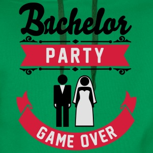 Bachelor Party Game Over T-shirts - Premiumluvtröja herr