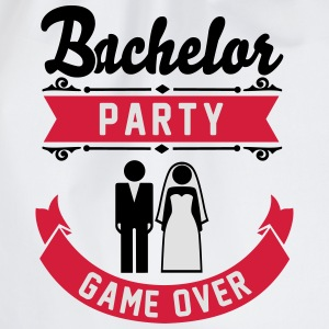Bachelor Party Game Over T-Shirts - Drawstring Bag
