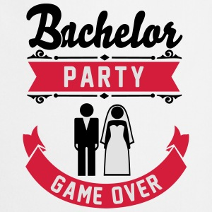 Bachelor Party Game Over T-Shirts - Cooking Apron