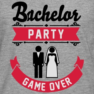 Bachelor Party Game Over T-Shirts - Men's Premium Longsleeve Shirt