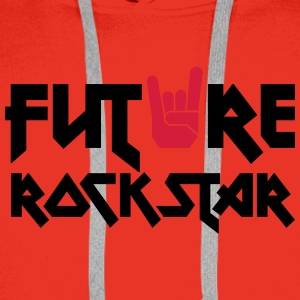 future rock star Shirts - Men's Premium Hoodie