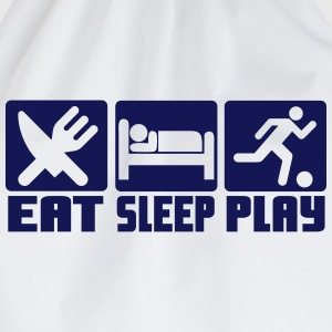 Eat, Sleep, Play Football T-Shirts - Drawstring Bag