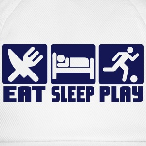 Eat, Sleep, Play Football T-Shirts - Baseball Cap