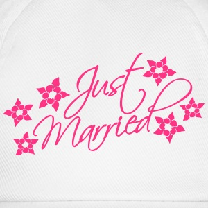 Just Married T-shirts - Basebollkeps