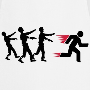 Run From Zombies T-skjorter - Kokkeforkle