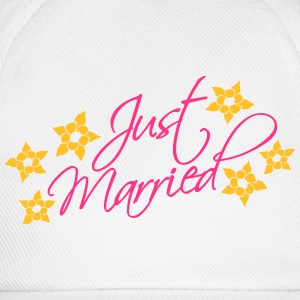 Just Married T-skjorter - Baseballcap