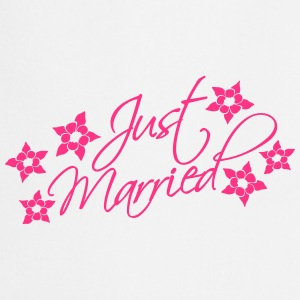 Just Married T-shirts - Forklæde