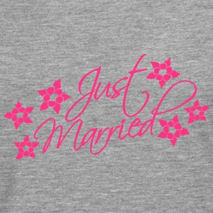 Just Married T-Shirts - Männer Premium Langarmshirt